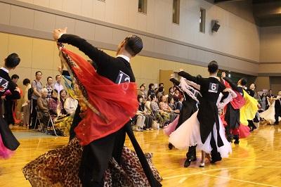 全道クラス別ダンス競技会 in 小樽市いなきたコミュニティーセンター 2019年9月29日